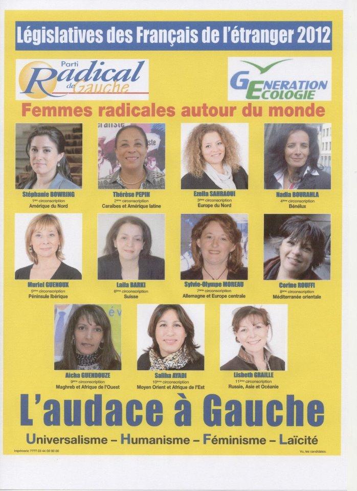 Les 11 candidates PRG pour les Français de l'étranger. dans Gauche 251872_464546290229650_100000228505802_1962402_1706680398_n