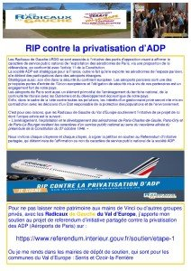 privatisation ADP