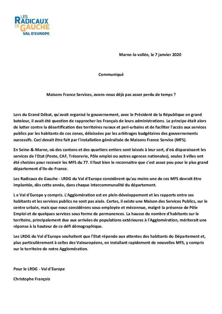 (mfs communiqué - 07)