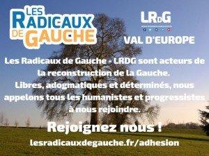 Rejoingnez les Radicaux de Gauche - LRDG